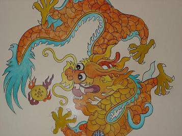 Jade Dragon Art